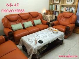 Bọc nệm ghế sofa da bò ý quận 2 - Sửa ghế sofa da bò quận 2