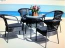 Tp. Hồ Chí Minh: thanh lý gấp bàn ghế mây nhựa cà phê, nhà hàng giá rẻ CL1672956