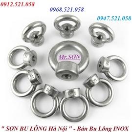 0968.521.058 bán bu lông móc cẩu inox âm dương M8,M0 và bu lông mắt Inox