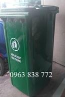Tp. Hồ Chí Minh: Thùng rác 240L nhựa hdpe - Thùng rác môi trường 240L - Thùng rác giá rẻ CL1674345