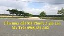 Bình Dương: Cần mua đất Mỹ Phước 3 giá cao thanh toán nhanh CL1695654P3