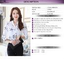Bắc Giang: Áo sơ mi nữ thanh lịch CL1684459