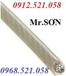 Tp. Hà Nội: Cáp Inox 201. 304, Cáp thép bọc nhựa Hà Nội 0913. 521. 058 bán khoá xe CL1674856