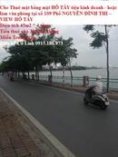 Tp. Hà Nội: ### Cho Thuê nhà mặt HỒ TÂY tiện kinh doanh hoặc làm văn phòng tại số 109 Phố CL1671491
