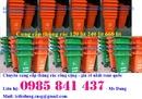 Đăk Lăk: Bán thùng rác 240 lít giá cực rẻ - số lượng có hạn - lh 0985 841 437 CL1676019P5