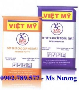 Báo giá bột trét tường Việt Mỹ 2016 tại TP HCM