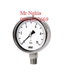 Đồng hồ đo áp suất thấp Wise P422 – Wise Vietnam - TMP Vietnam