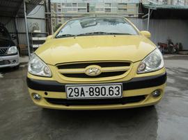 xe Hyundai Getz AT 2008 vàng, 315 triệu