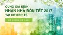 Tp. Hồ Chí Minh: Bán căn hộ Citizen Hưng Thịnh-nhận nhà trước tết 2017 CL1700772