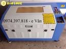 Tp. Hà Nội: Máy laser cắt vải tự động, laser cắt da, cắt giấy giá rẻ CL1675485