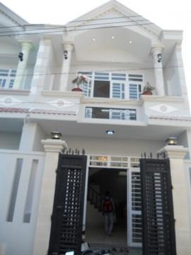 Nhà 1 trệt 1 lầu mới- đẹp Trương Phước Phan, Thiết kế Tây Âu, SHCC