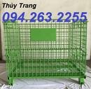 Tp. Hà Nội: lồng trữ hàng, lồng thép, rọ trữ hàng, sọt lưới rẻ, lồng hàng CL1678223P3