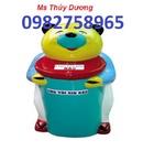Tp. Hải Phòng: thùng rác hình cá heo, thùng rác hình gấu, thùng rác 95l, thùng rác rẻ CL1678223P3