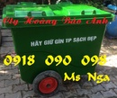 Tp. Hồ Chí Minh: thùng đựng rác, xe rác, thùng rác 120 lít, 240 lít, xe rác 660 lít, xe gom rác CL1677296