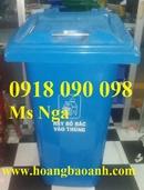 Tp. Hồ Chí Minh: phân phối thùng rác nhựa 90 lít, thùng rác 120 lít, thùng rác240 lít, thùng rác CL1677296