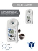Tp. Hồ Chí Minh: khúc xạ kế đo nồng độ acid trong sake , pal - bx acid 121, atago - nhật bản CUS43465