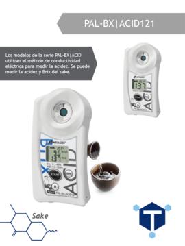 khúc xạ kế đo nồng độ acid trong sake , pal - bx acid 121, atago - nhật bản