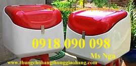 thùng chở hàng , thùng giao hàng composite, thùng giao thức ăn nhanh giá rẻ