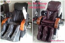 Bọc ghế massage quận 1 - Bọc lại áo ghế massage quận 1