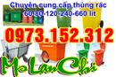 Tp. Hồ Chí Minh: Xả kho, bán giá gốc thùng rác công cộng 120, 240, 660 lít CL1677945