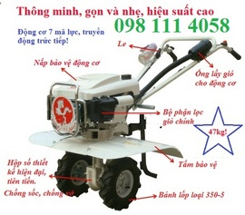 Mua máy cày trâu vàng đa năng giá rẻ tại Hà Nội