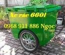Tp. Hồ Chí Minh: Xe thu gom rác , xe rác 660l, xe rác công nghiệp giá rẻ, xe đẩy rác CL1678192