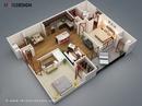 Tp. Hà Nội: Bán chung cư hiện đại giá rẻ gần cầu Trắng Hà Đông CL1678583