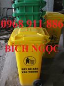 Tp. Hồ Chí Minh: Thùng rác 2 bánh xe, thùng rác nhựa 120l, xe rác công nghiệp, xe đẩy rác CL1679588P1