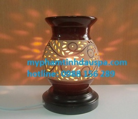 đèn xông tinh dầu gốm điện - myphamtinhdauspa. com