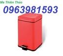 Tp. Hải Phòng: thùng rác inox, thùng rác văn phòng, thùng rác công sở, thùng rác gạt ta CL1680787