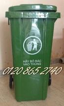 Kiên Giang: Bán thùng rác 120L, thùng rác nhựa 120L, thùng rác công nghiệp, , thùng rác 120 CL1644646