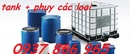 Tp. Hà Nội: thùng phuy sắt cũ giá rẻ, thùng phuy nhựa 4 đai, thùng nhựa 120lit giá canh tranh CL1682092P10