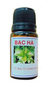 Tinh dầu BẠC HÀ-*-Giải độc, kháng khuẩn, phòng chông dị ứng