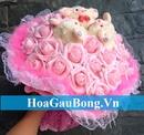 Tp. Hồ Chí Minh: Hoa gấu bông là sự kết hợp tinh tế giữa gấu bông và hoa CL1696906
