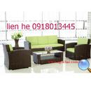 Tp. Hồ Chí Minh: thanh lý nhanh bàn ghế sopha mây nhựa nhà hàng giá rẻ CL1681126