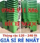 Tp. Hồ Chí Minh: thùng rác y tế đạp chân 15l, 20l, 120l, 240l CL1681613