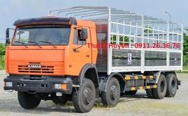 Xe tải Kamaz 4 chân 6540 (8x4) 30 tấn, năm 2015