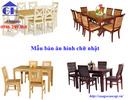 Tp. Hà Nội: Mẫu bàn ăn gỗ mới nhất hiện nay - Nội thất Gỗ Hiền CL1684206P2