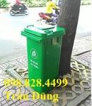 Tp. Hồ Chí Minh: Thùng rác nhựa, thùng rác 120l, thùng rác có bánh xe CL1681888