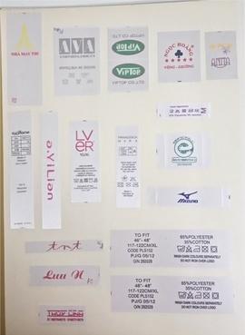 Chuyên in ấn tem nhãn mác cung ứng xuất khẩu ngành may mặc