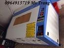 Tp. Hà Nội: Máy laser 6040, chuyên cắt khắc mica, máy làm quà tặng móc chìa khóa CL1683276