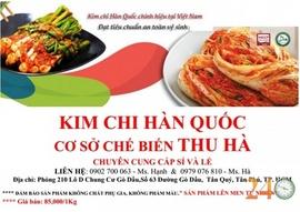 Chuyên Chế Biến, Cung Cấp Kim Chi Quận Tân Phú