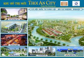 g$$$ Sở hữu đất nền Thới An City 2 mặt view sống giá rẻ nhất, LH: 0907. 812. 829