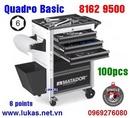 Tp. Hồ Chí Minh: Tủ đồ nghề cao cấp 6 ngăn Quadro Basic, bao gồm 100 món - 8162 9500 CL1684207