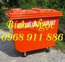 Tp. Hồ Chí Minh: Thùng rác nhựa 2 bánh xe, thùng rác y tế ,xe đẩy rác, xe quét rác giá rẻ CL1684429