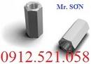 Tp. Hà Nội: 0913. 521. 058 bán thanh ty ren, ống nối ren lục giác D6 đến D30 Hà Nội CL1685263