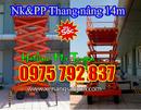 Tp. Hồ Chí Minh: Bán thang nâng zich zac 14m Noveltek - Đài loan, hàng mới về, giá cực rẻ CL1685263