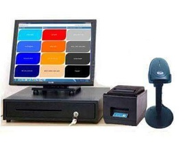 Máy tính tiền cảm ứng 2 màn hình cho siêu thị tại Cần Thơ