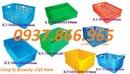 Ninh Bình: thùng nhựa rỗng ,rổ nhựa đan, khay nhựa b5, sóng nhựa bít b8, sọt nhựa bánh xe CL1700003P8