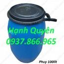 Tp. Hà Nội: thùng phuy nhựa cũ thanh lý, thùng phuy sắt 200lit, thùng chứa 50lit, thùng 100lit CAT247_279